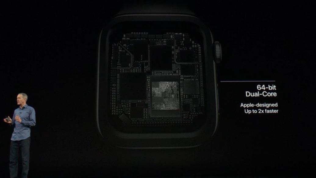 S4 SoC Apple Watch Series 4