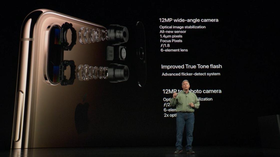 Doppia fotocamera iPhone Xs