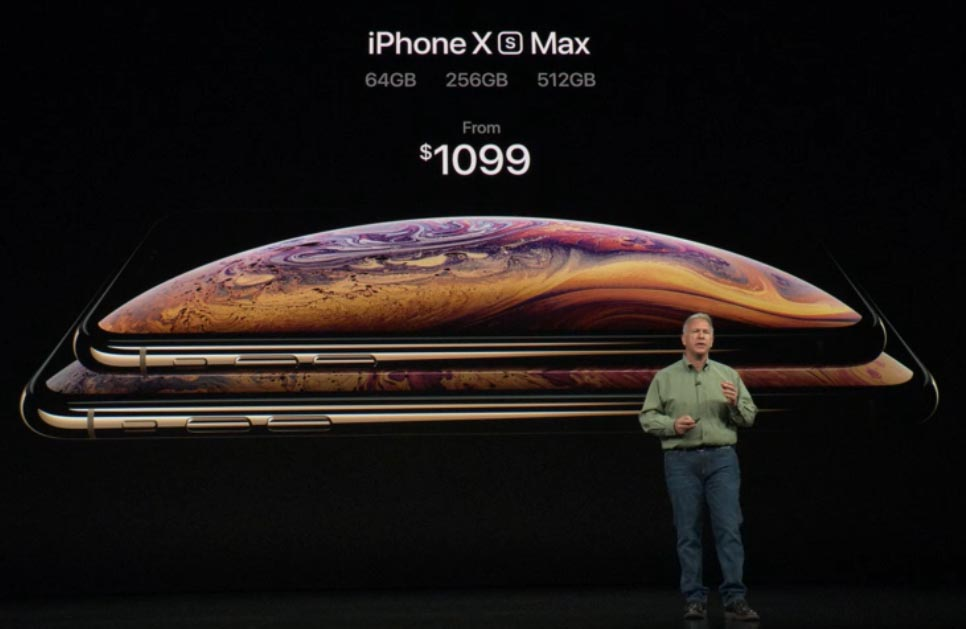 Prezzo e disponibilità iPhone Xs Max