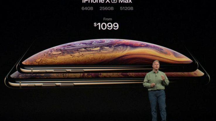 Prezzo e disponibilità iPhone Xs Max