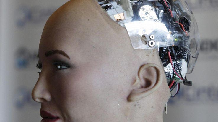 Futuri robot con pelle che sente vento