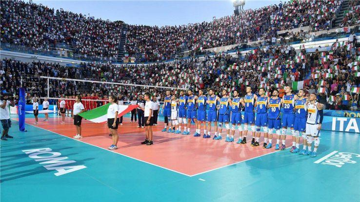 Partita inaugurale dei mondiali di pallavolo 2018 roma