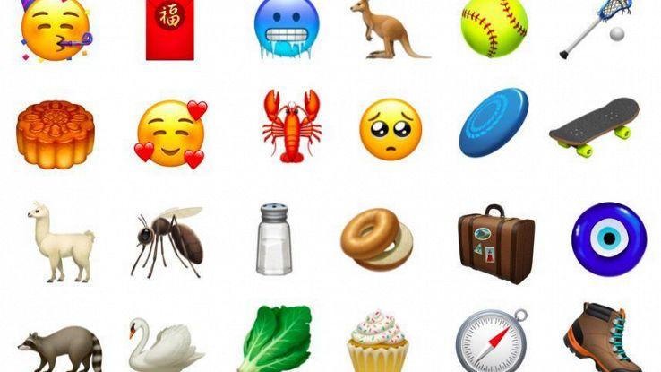 Da skate a canguro,nuove emoji su iPhone