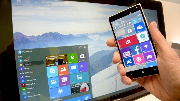 Microsoft, stop aggiornamento Windows 10