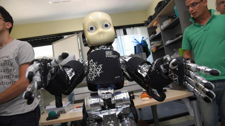 Robot 'parlano' con linguaggio italiano
