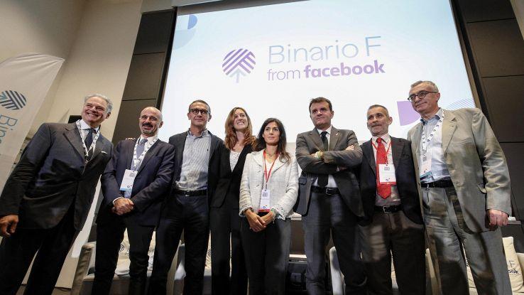 Facebook inaugura Binario F a Roma