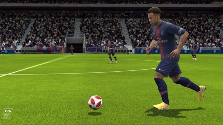 Un'immagine di Fifa 19 per mobile
