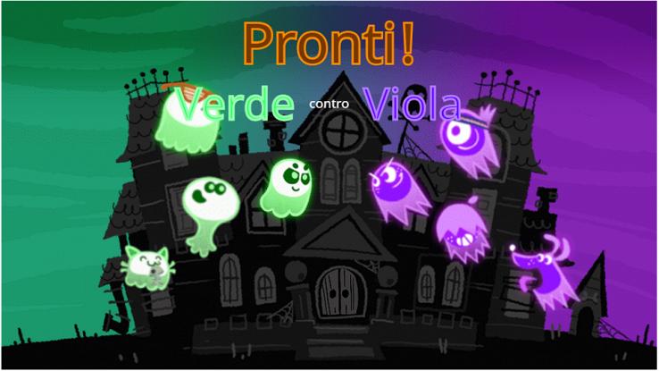 Il gioco di Google per Halloween
