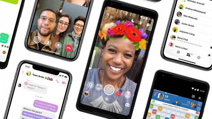 La nuova interfaccia di Messenger