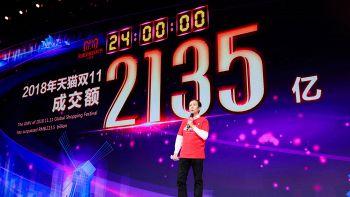 Alibaba, record vendite in giorno single