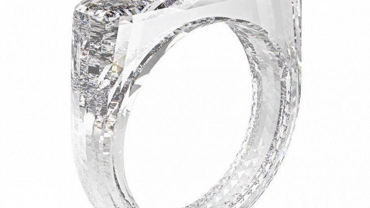 Capo design Apple crea anello diamante