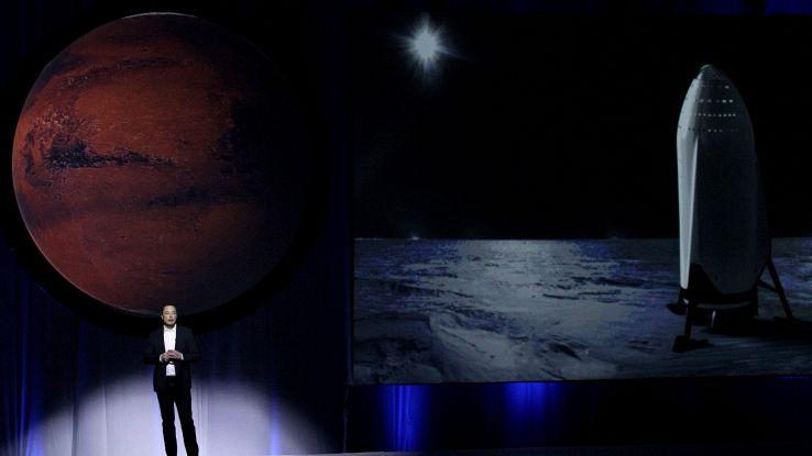 Musk,andrò su Marte,si rischia di morire