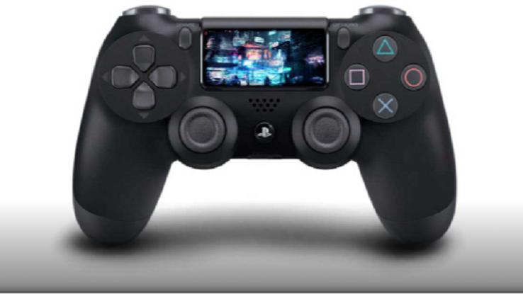 Un controller della PlayStation