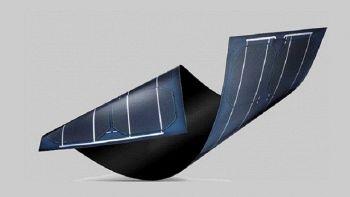 Un pannello solare flessibile