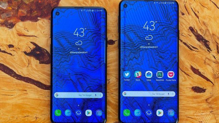 rendering del nuovo smartphone di Samsung