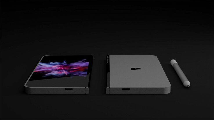 Il tablet pieghevole di Microsoft
