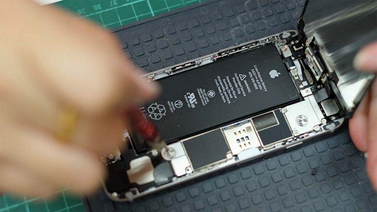 Cambio della batteria dell'iPhone