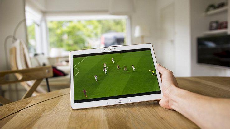 streaming calcio tablet