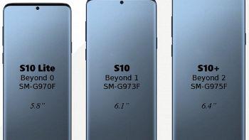 I tre nuovi modelli di samsung-galaxy-s10