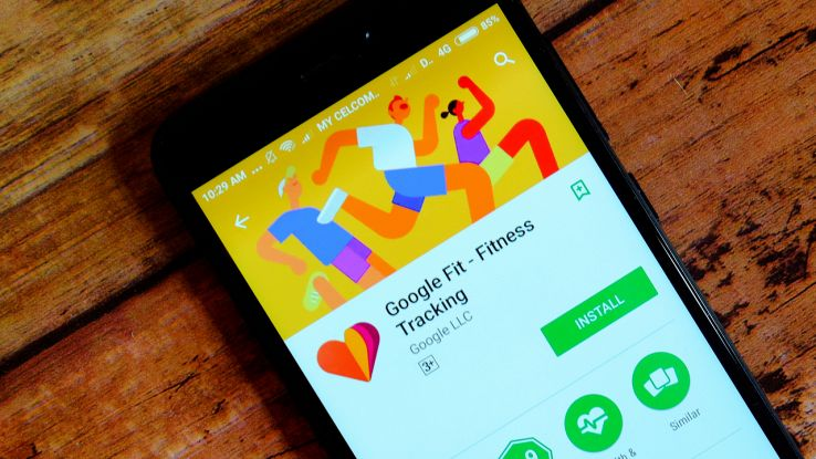 L'app Google Fit su smartphone Android