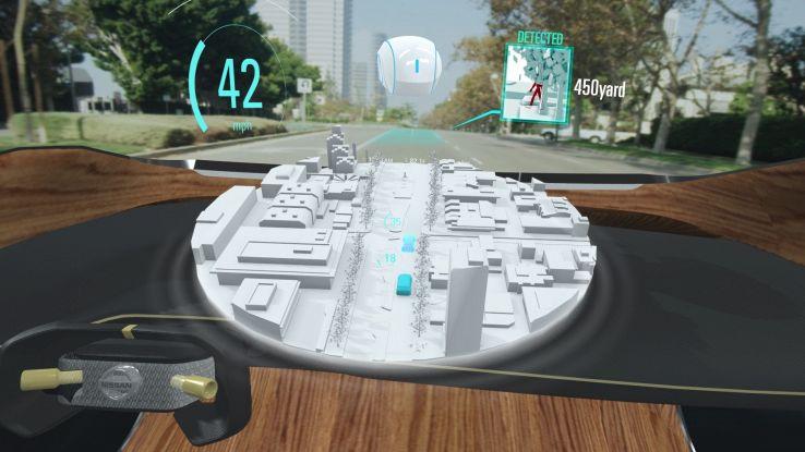 Nissan, a bordo passeggeri-avatar