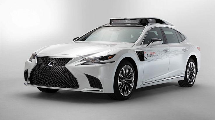 Da Lexus nuovo concept a guida autonoma