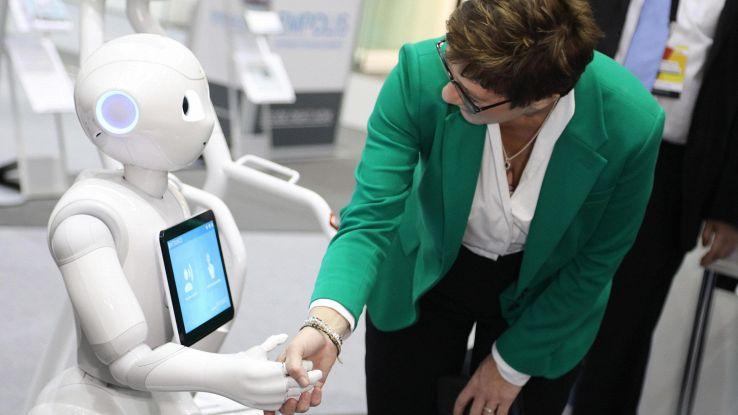 Robot fa rivivere animale preistoria