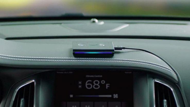 Amazon Echo Auto, un mln di prenotazioni