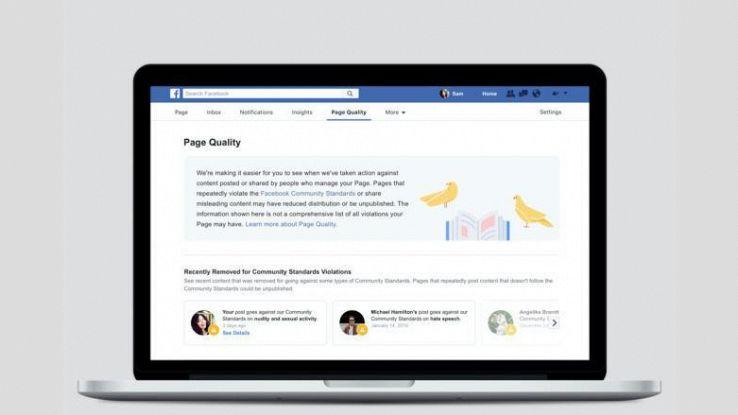 Fb, stretta sui contenuti delle Pagine