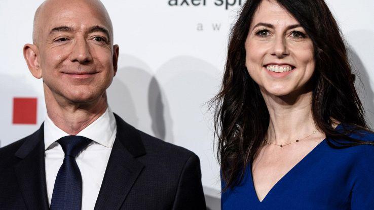 Bezos ha un'altra donna, Lauren Sanchez