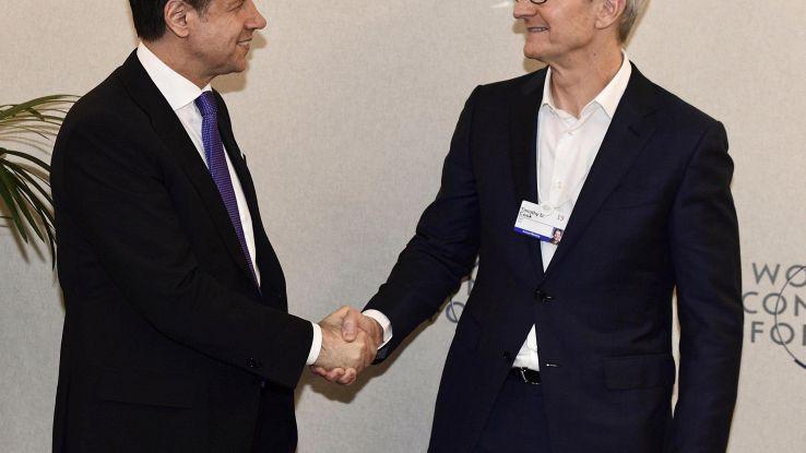 Conte, con Apple discussi investimenti