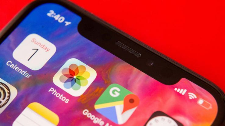Il notch dell'iPhone X
