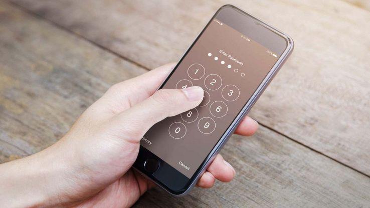Smartphone bloccato
