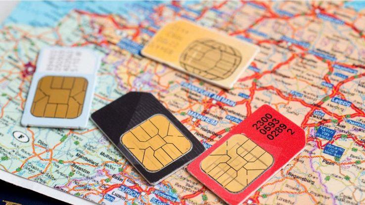 Schede SIM con seriale