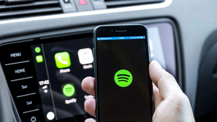 Spotify in auto