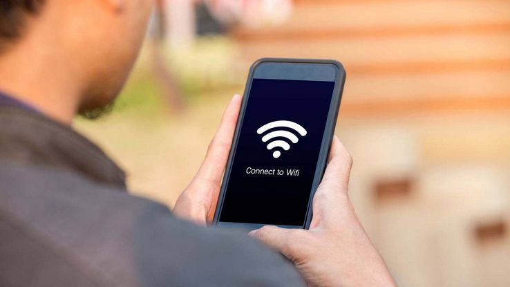 Wi-Fi su telefono