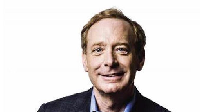 Microsoft, il presidente Brad Smith in Italia