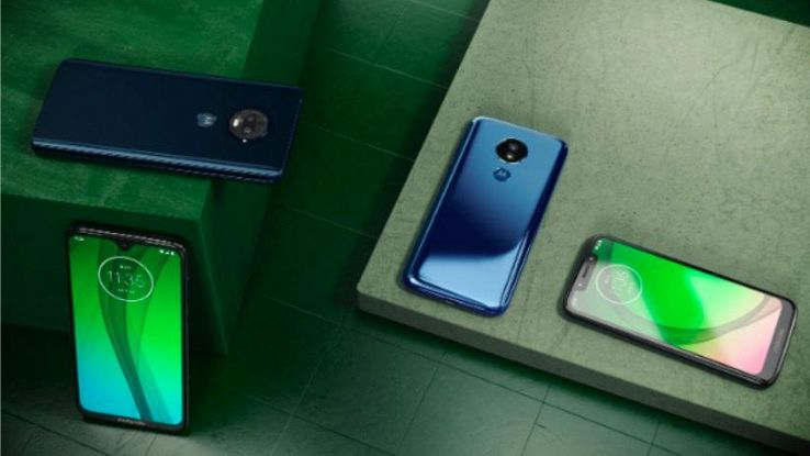 Motorola, il Moto G7 si fa in quattro