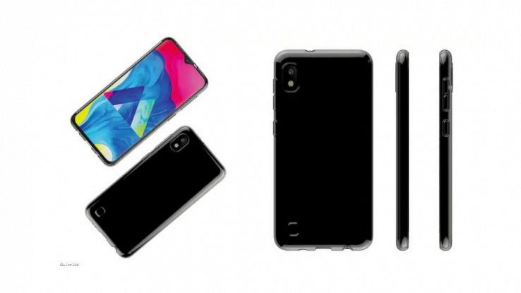 Galaxy A10, prime foto dello smartphone low cost Samsung