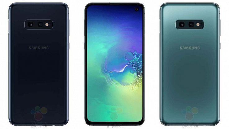 Galaxy S10e immagini ufficiali
