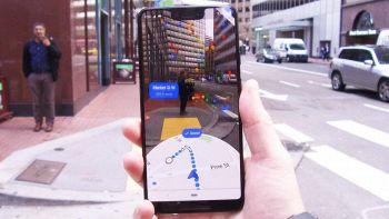 Google Maps a realtà aumentata