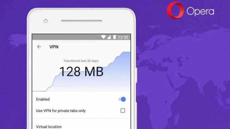 VPN di Opera