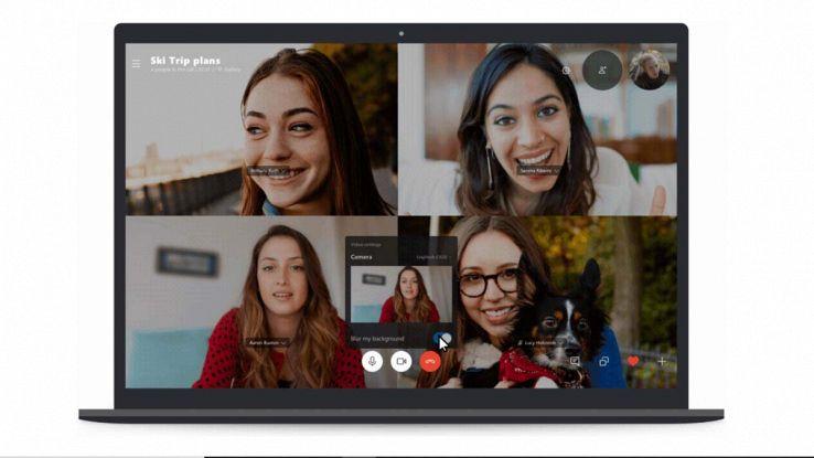 Sfondo Skype