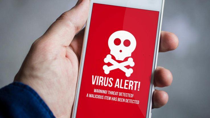 Virus su smartphone