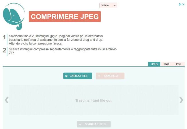 CompressJpeg Homepage