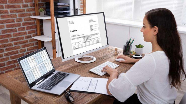 Fattura elettronica su PC