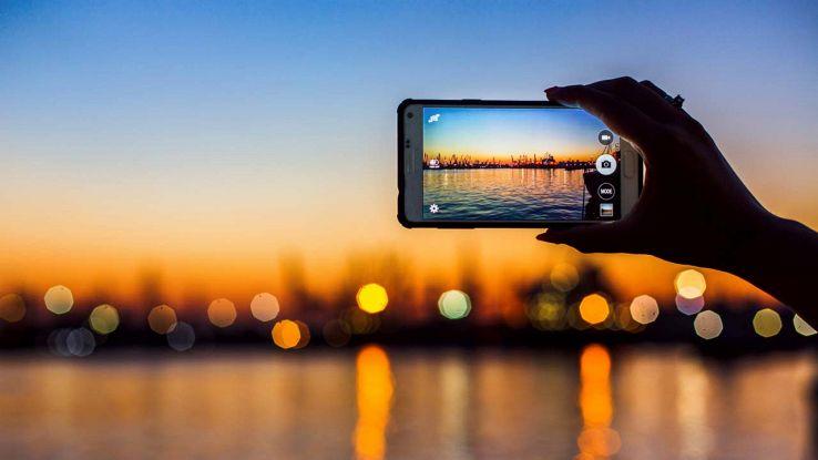 Foto con lo smartphone