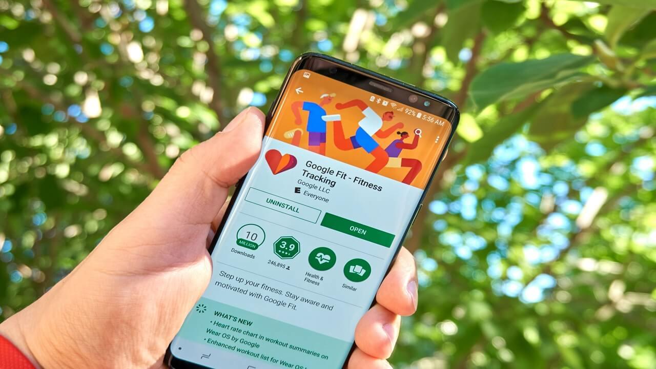 App Google: Google Fit