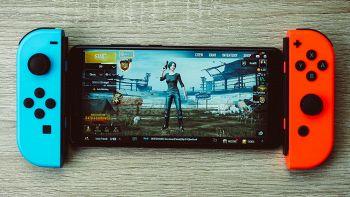 smartphone con joycon nintendo switch