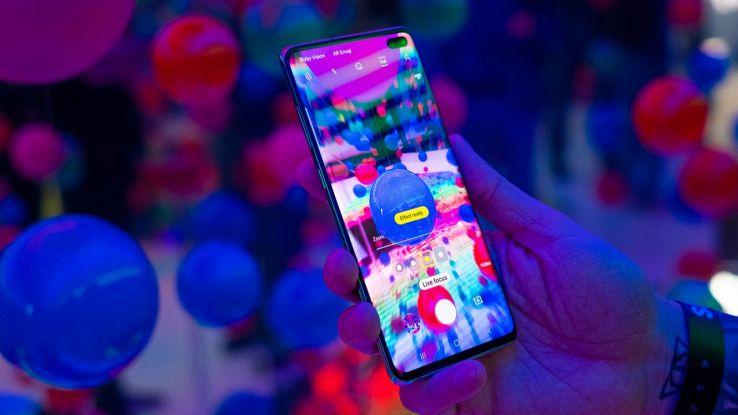 Schermo del Galaxy S10 Plus